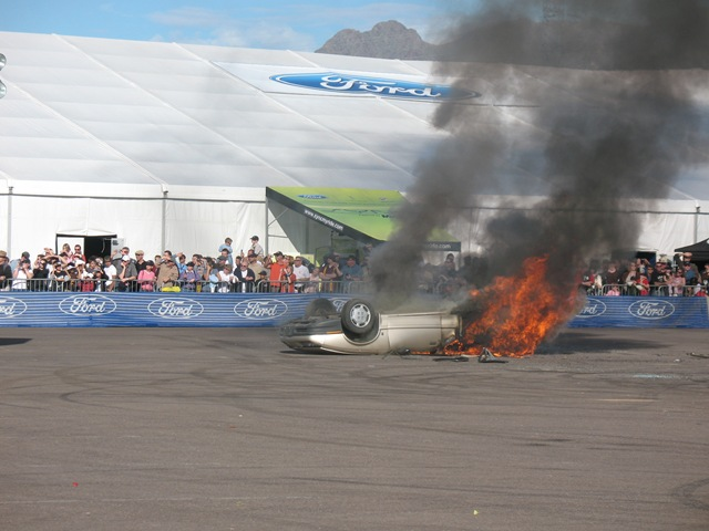 Burning Saturn SL1