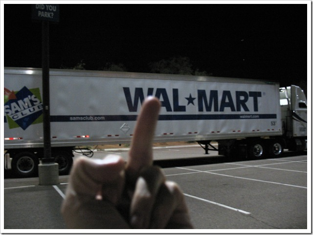 Fuck you, Wal*Mart