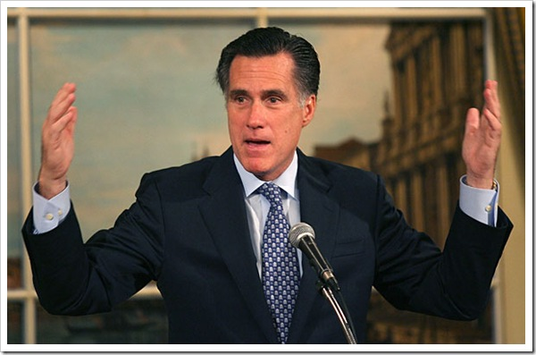 Willard Mitt Romney likes big butts
