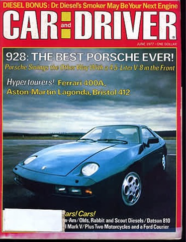 Car and Driver June 1977