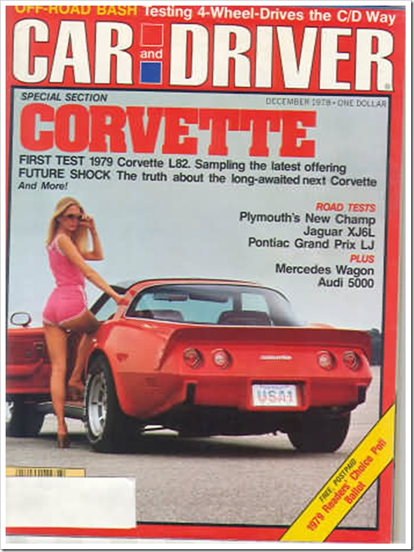 Car and Driver December 1978