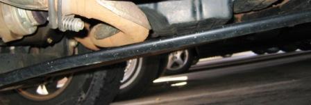 Jeep Liberty skid plate