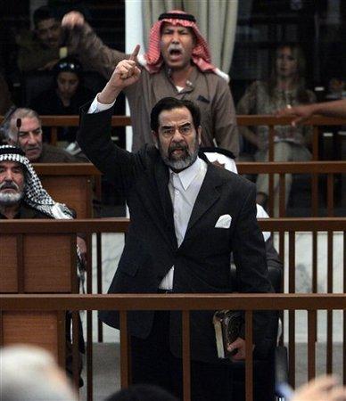 Saddam Hussein trial